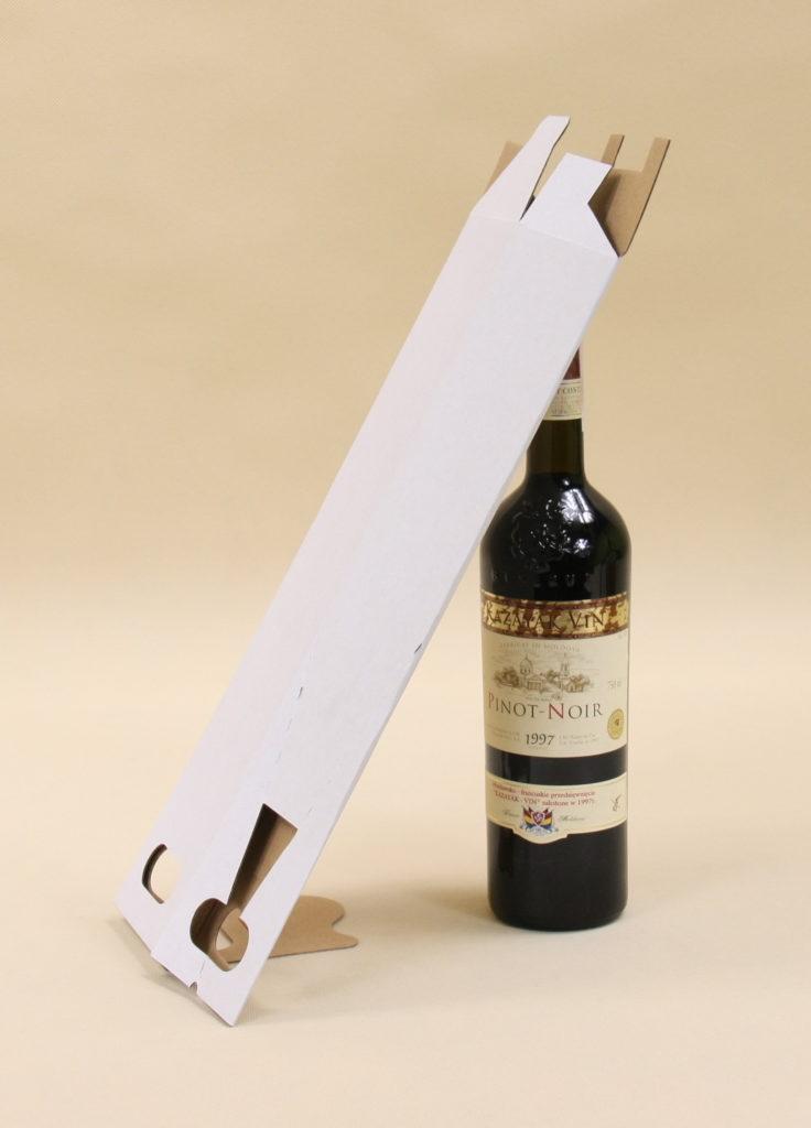 kartonowe pudełko na 1 wino