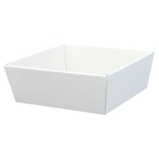 Koszyk prezentowy Biały 19x19cm