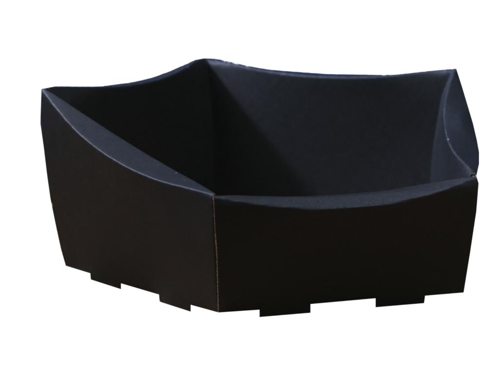koszyk prezentowy czarny