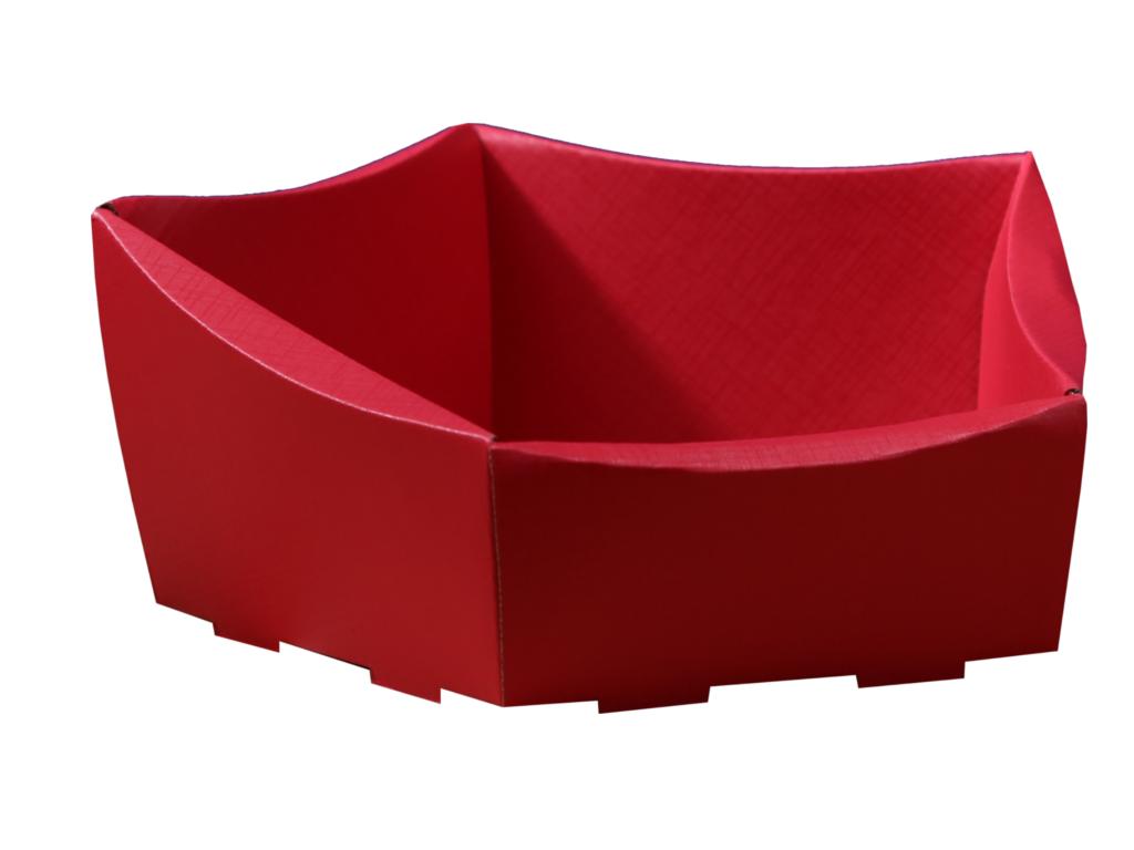koszyk prezentowy czerwony