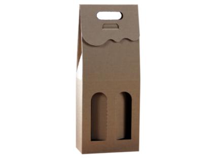 pudełko kartonowe na 2 butelki