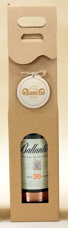 pudełka na wino z logo bania
