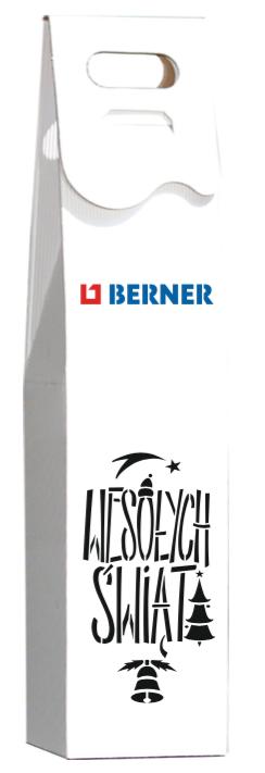 pudełka na wino z logo berner