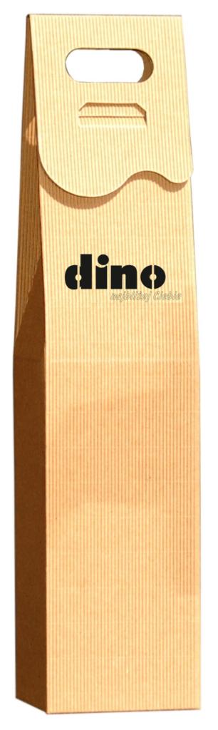 eco Pudełko ozdobne na wino z logo dino