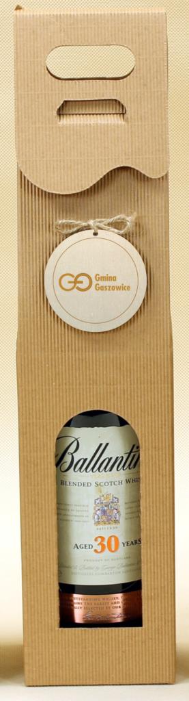 eco Pudełko ozdobne na wino z logo na kółku