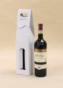 kartonowe pudełko na wino