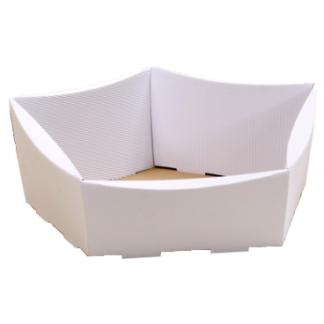 koszyk prezentowy biały