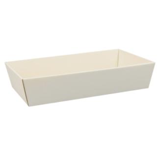 Koszyk prezentowy Biały 25x46cm